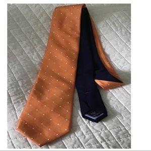 Tommy Hilfiger lion crest tie 100% silk